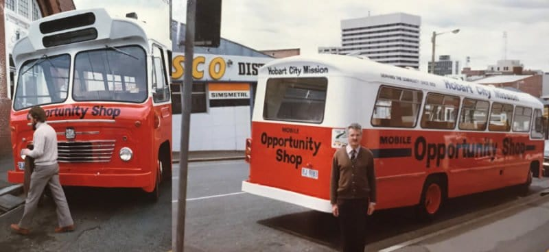 1980s Op Shop Bus
