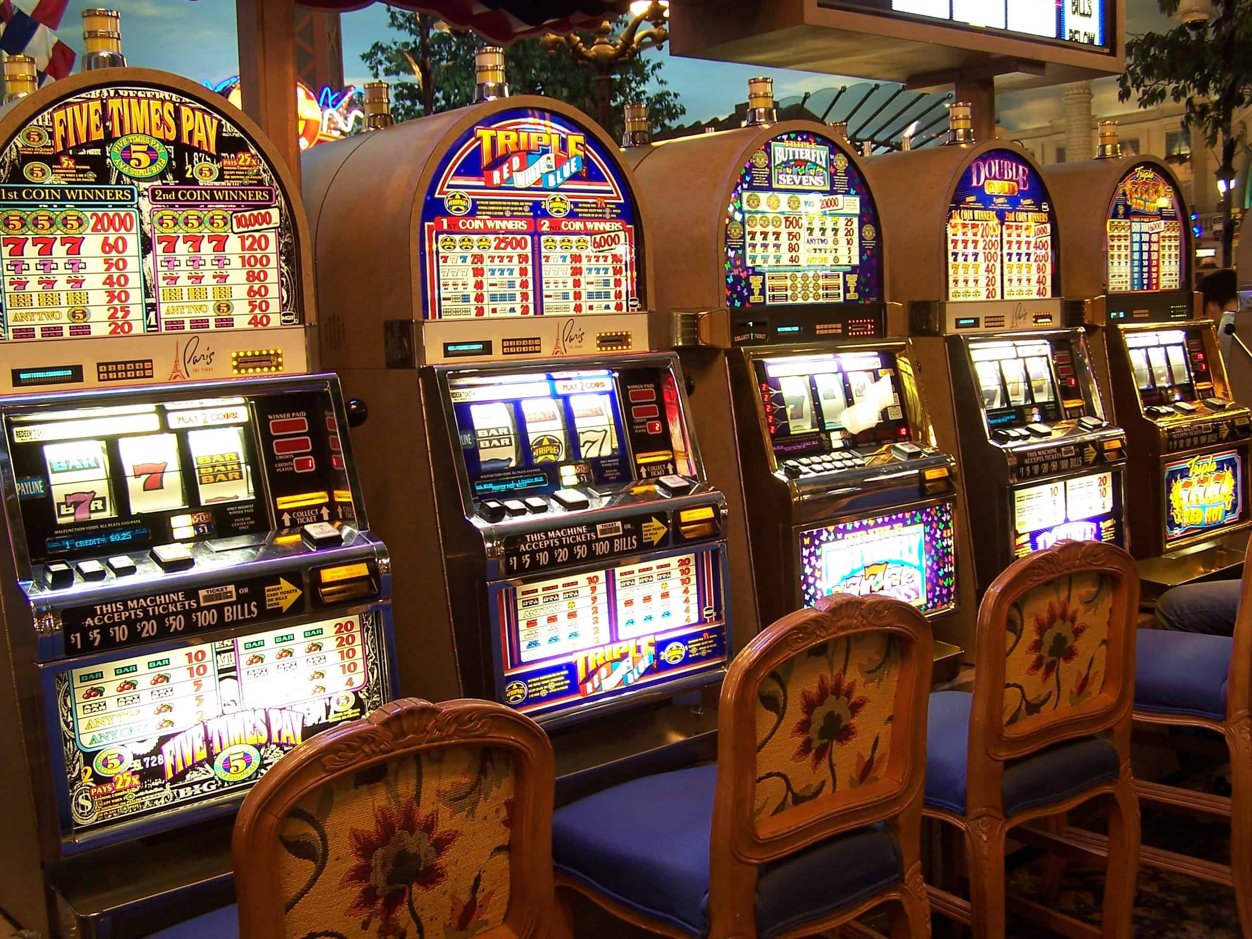 Online slot machines gambling