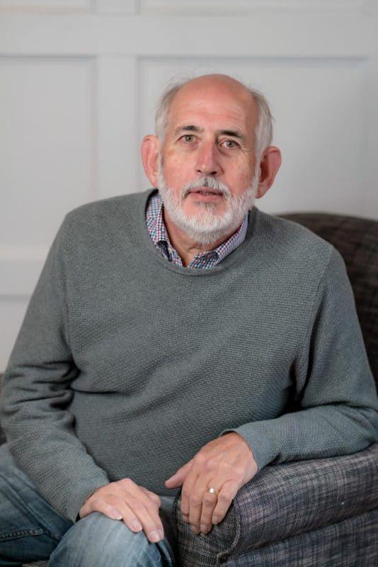 Portrait of Patrick Carlisle - Board Member at Hobart City Mission