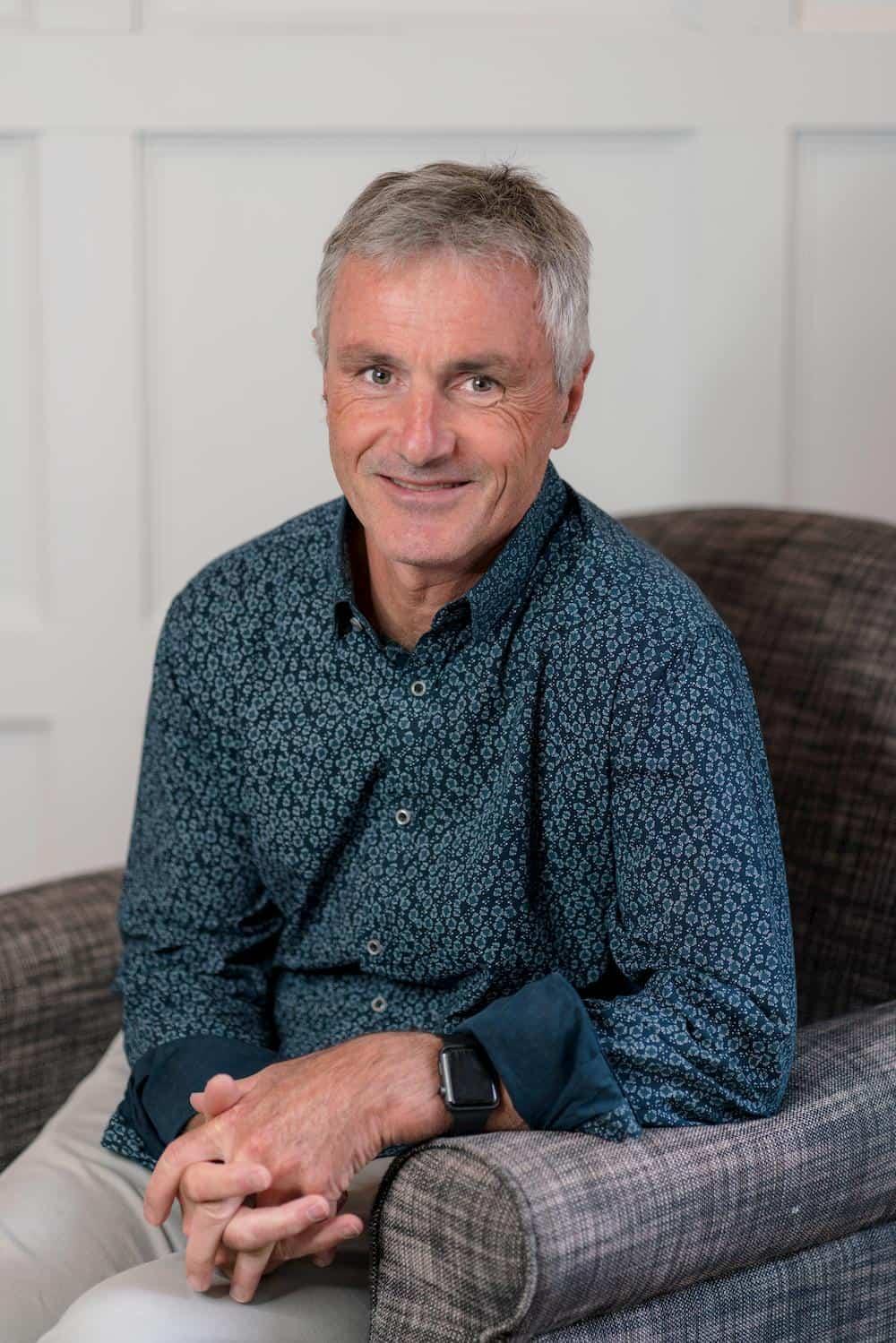 Portrait of Peter Gartlan - Deputy President of Hobart City Mission's Board