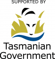 Supported by Tas Govt logo (colour)